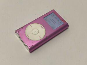 Apple iPod Mini 2nd Generation A1051 Pink 4GB SCRATCHED