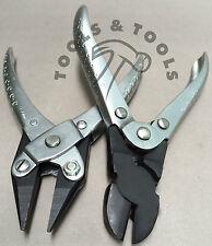 2 piezas de acción en diagonal Cortadores & Cadena nariz alicates joyería Alambre Crafts