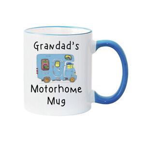 MOTORHOME MUG - PERSONALISED - MUM - DAD - GRANDMA - GRANDAD - GRANDPA - NANNY