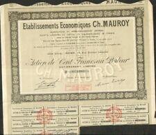 Etablissements Economiques CH. MAUROY (REIMS 51) (V)