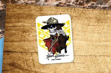Lot of 2 Pieces POWELL PERALTA Kevin Harris Mountie Skateboard Vinyl Stickers