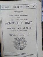 Piemonte araldica libro su conti Mentone Ratti di Torre Rossano
