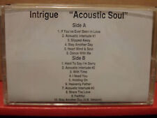 Intrigue - Acoustic Soul PROMO Cassette Rare R&B