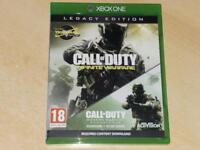Call of Duty Infinite Warfare Legacy Edition Xbox One Modern Warfare Remastered