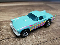 Mattel 1977 Hot Wheels 57 T-Bird Light Blue Die Cast Car