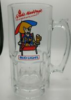 Vintage 1987 Spuds McKenzie Bud Original Party Animal ANHEUSER-BUSCH Beer Mug