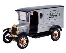 1:24 Ford 1925 Model T Paddy Waggon w/ Logo (Silver) - Motor Max Platinum Series