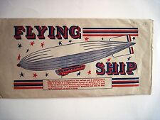 Vintage Toy Model of An Airship Includes Balloon & Original Envelope w/Picture*