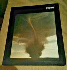 Planet Earth Storm hard cover 1982 Book Science Natural History Photo Album