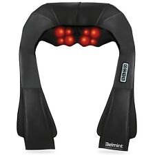 Shiatsu Kneading Neck & Back Massager with Heat - Perfect for Car/Office/Chair