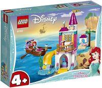 Lego Disney Juniors 41160 Princess ARIEL'S SEASIDE CASTLE Little Mermaid 4+ New
