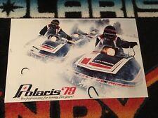 🏁 79 POLARIS Centurion 500 Snowmobile Poster    vintage sleds >>Triple 500