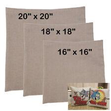 "Linen Sublimation Blank Pillow Case Xmas Holiday Gift Home Decor 16"" / 18"" / 20"""
