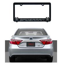 Brand New Superhero Spiderman Chrome 3-D Plastic License Plate Frame MADE IN USA