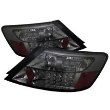 Honda 06-11 Civic 2dr Smoke LED Rear Tail Lights Brake Lamp DX LX EX SI Coupe