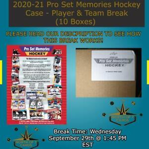 Mike Modano Auto - 2020-21 Pro Set Memories Hockey Case Break (10 Boxes) #1