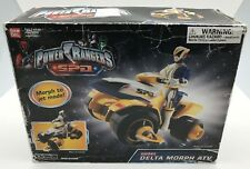 Power Rangers SPD Omega Delta Morph ATV Motorcycle