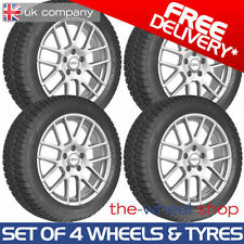 Fiesta Aluminium Wheels with Tyres 4 Number of Studs