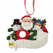 2020 Árbol de Navidad Adornos Papá Noel Decoración Colgante Creativo Regalos