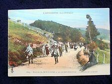 OLD PPC: L'AUVERGNE~MONT DORE~LA BOURBOULE~DONKEYS~1922