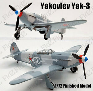 Yakovlev Yak-3 East Russia 1944 Ace Pilot 1/72 finished plane Easy model
