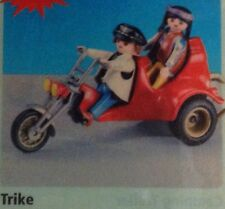 "Playmobil 7528 Trike / Chopper / Easy Rider /  with 2 Figures  ""NEW"""