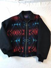 Vtg Pendleton High Grade Western Wear Wool Jacket XL Aztec Southwestern USA