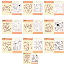 Clear Stamps + Metal Cutting Dies Stencils Scrapbooking Embossing for DIY Crafts