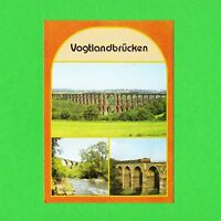 Ansichtskarte DDR Vogtlandbrücken
