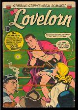Lovelorn #42 Nice Boxing Cover Pre-Code Golden Age ACG Love Comic 1953 VG-FN