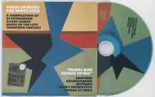PIECES OF MUSIC FOR WHITE DOTS - Russian AvantGarde / Noise / Free Jazz CD 2001