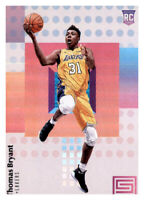 2017-18 Status Thomas Bryant Lakers #105 NBA Rookie RC PWE