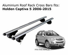 Aluminium Roof Rack Cross Bars fits Holden Captiva 5 with roof rails 2006-2015