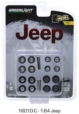 Greenlight Jeep Wheels & Tire Pack 16010 C 1/64