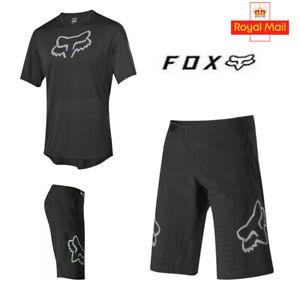 Fox Men's Shorts Jersey Breathable Padded Lightweight Mountain Racing Bike