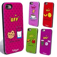 For iPhone 5 SE 6 6S 7 8 3D BFF Hot Cute Cartoon Soft Silicone Phone Case Cover