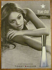 Beyonce, Tommy Hilfiger, True Star, Full Page Ad
