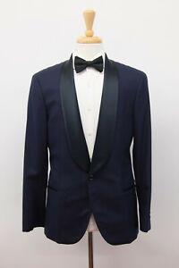 NWT$6045 Brunello Cucinelli Men 100% Cashmere 2-Tone Tuxedo Jacket 48/ 38US A201