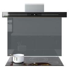 Splashback Kitchen Toughened Glass Panels Bathroom Shade Grey Any Size Colour