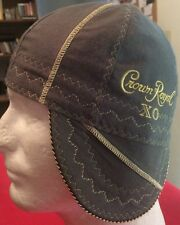 Grey XO Crown Royal FR Welding Caps Made in U.S.A. Any Size, IBEW, UA Welder Hat