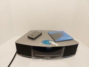 Bose 737251-1310 Wave Music System IV W/ CD Player & Alarm Clock Platinum Silver