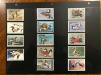 Mint Duck Stamp Collection (RW39, 42-53, 55) 14 Mint Never Hinged Duck Stamps +