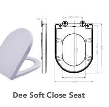 Paillettes wc siège couvercle de toilettes abattant abattant couvercle avec automatisme de descente//fermeture amortie