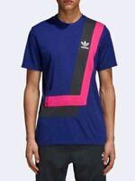 NEW Adidas Originals BR8 Tee Shirt Mens L 2XL Real Purple/Shock Pink DM4445 $40