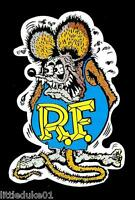 A RAT FINK Sticker Decal Hot Rod Car Surfboard Surfing PANEL VAN UTE HOLDEN FORD