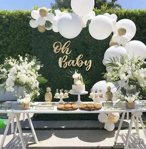 Oh Baby wood sign. Baby shower decorations.Oh Baby Baby Shower Banner.