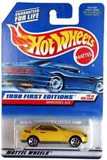 1998 Hot Wheels #646 First Edition #11 Mercedes SLK (5 hole Malaysia base)