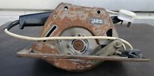 AEG Circular Saw Wood Electric 240v Carpenter Joiner HK160A