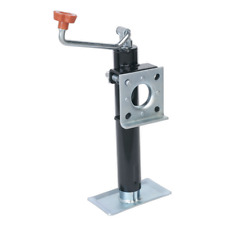 TB373 Sealey Trailer Jack with Weld-On Swivel Mount 250mm Travel 900kg Capacity