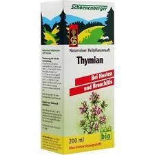 THYMIAN SAFT Schoenenberger 200ml PZN 692340